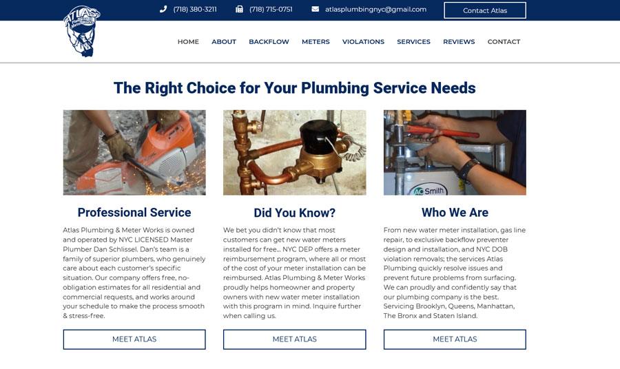 Plumbing-Website